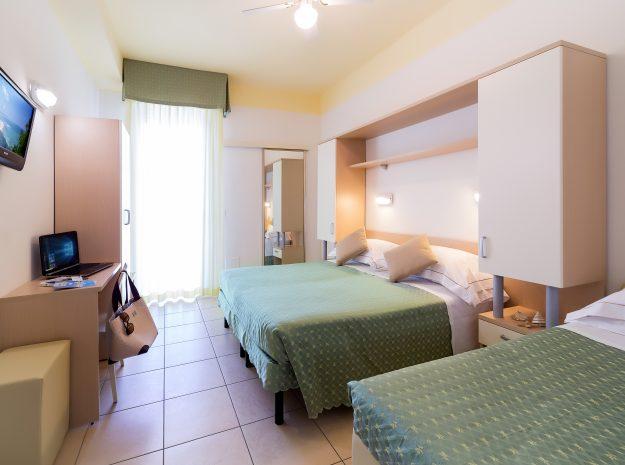 Zimmer3 NEU©Hotel Principe Cattolica