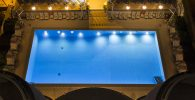 Hotel Flamingo_Pool Nacht