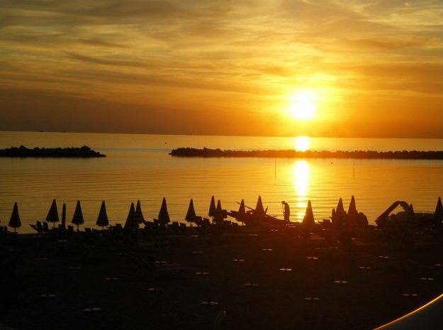 Hotel Marco Polo_Sonnenuntergang
