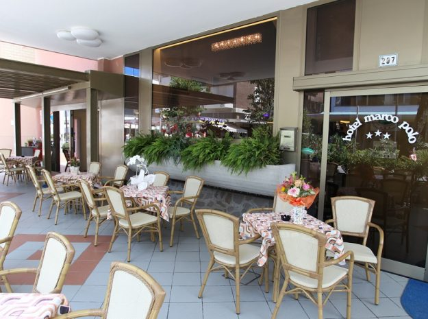 Hotel Marco Polo_Terrasse