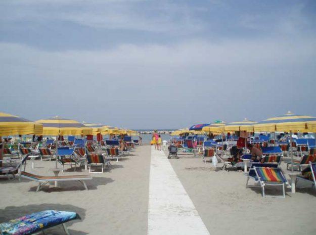 Strand 2©Hotel Principe Gatteo Mare
