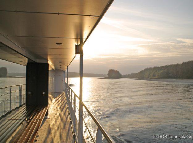 Donauschiff Deck©DCS-Touristik
