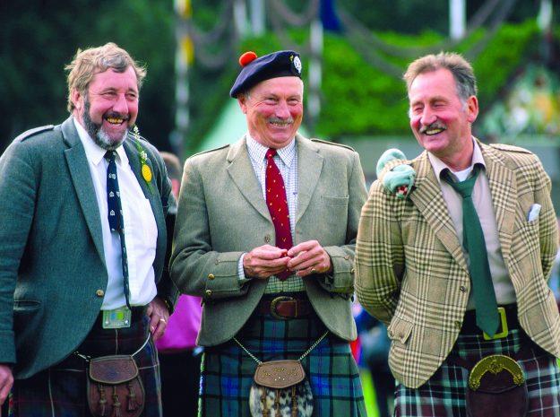 Die drei Schotten_©Behringer