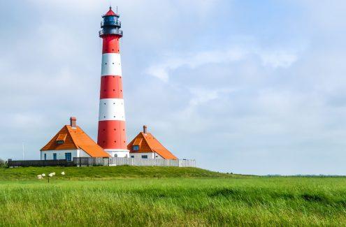 Leuchturm Husum Nordsee ©jakobradlgruber/123RF