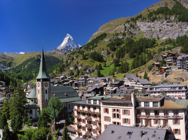 Zermatt©Leander Wenger