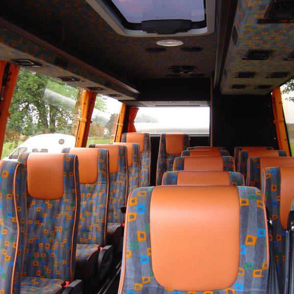 mercedes sprinter 18 pl reiseb ro weiss reisen. Black Bedroom Furniture Sets. Home Design Ideas
