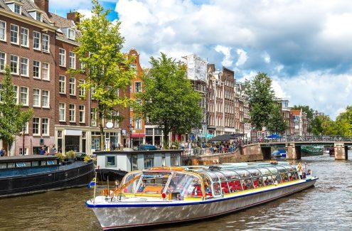 Grachten Amsterdam©bloodua123RF