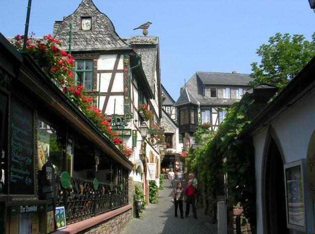 Drosselgasse, Rüdesheim©Weiss Reisen