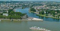 Koblenz: Deutsches Eck©DZT-Goebel